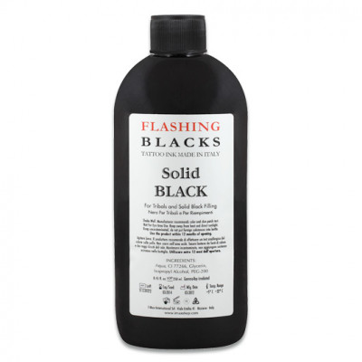 Flashing Solid Black 250ml