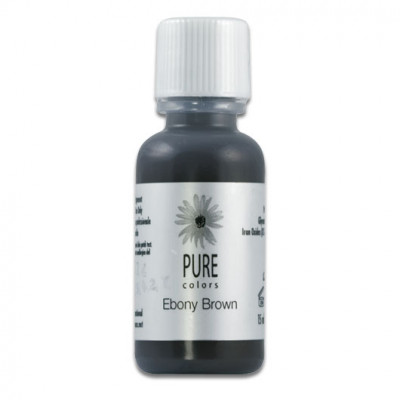 Pure Colors Ebony Brown 15ml