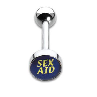Tongue Studs 1.6x16mm Sex Aid