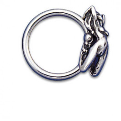 Charm Ring verticale 1.6x12 Donna Nuda