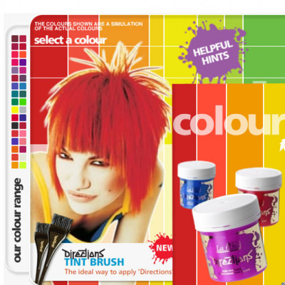 Directions Hair Colours
