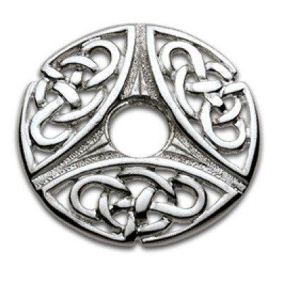 Silver Nipple Shield Tri Celtic