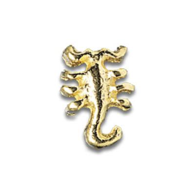 Gioiello per Denti Oro 3-D Scorpion