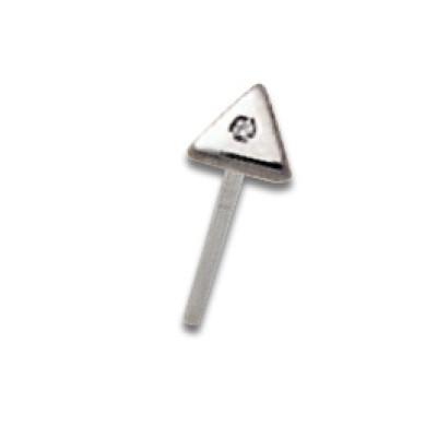 Nostril Triangle Spessore 0.8mm dritto