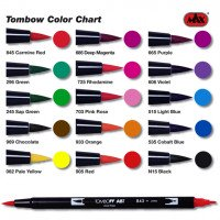 Pennarelli Tombow Dual Brush