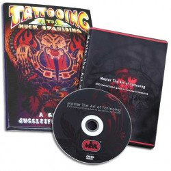 DVD Master the Art of Tattooing + Livre Tattooing A to Z