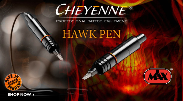 Discover the new Cheyenne Hawk Pen a revolutionaly rotary tattoo machine
