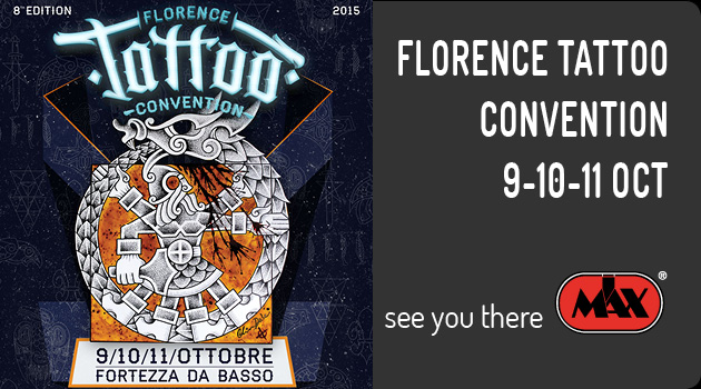 See you at Florence Tattoo Convention 2015