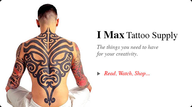 IMAX Tattoo Supplies the things you need to have for your creativity