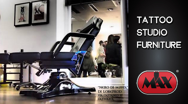 The very best Tattoo Studio Furniture, our range includes tattoo chairs, tattoo arm rest, tattoo stool, arm and leg rest, tattoo trolley, tattoo artist chair and much more.