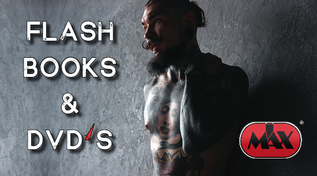 Books, DVD's & Flash. At I Max you get everything your tattoo heart desires.