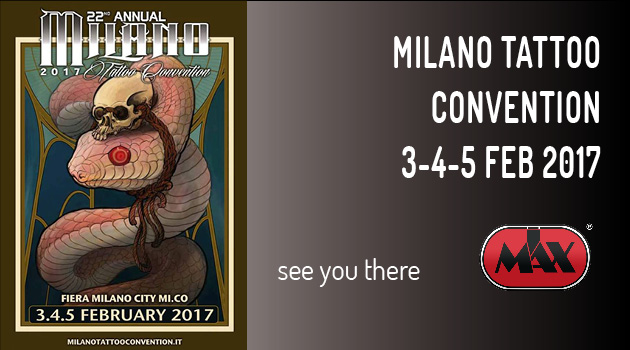 IMax Tattoo Supplies @ Milano Tattoo Convention 2017