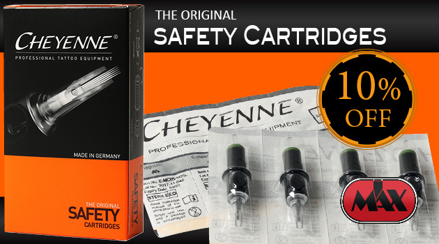 I Max SUPER PROMO on Cheyenne Safety Cartridges
